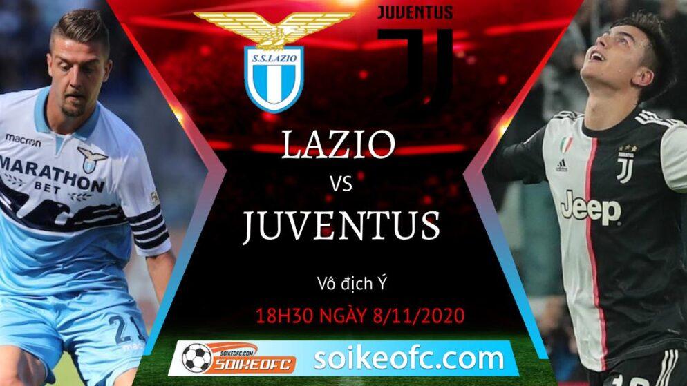 Soi kèo Lazio vs Juventus, 18h30 ngày 08/11/2020 – VĐQG Italia