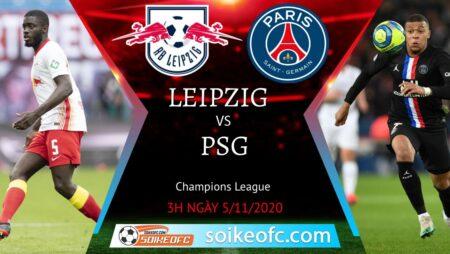 Soi kèo RB Leipzig vs PSG, 3h00 ngày 05/11/2020 – Champion League
