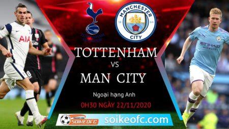Soi kèo Tottenham vs Manchester City, 0h30 ngày 22/11/2020 – Ngoại Hạng Anh