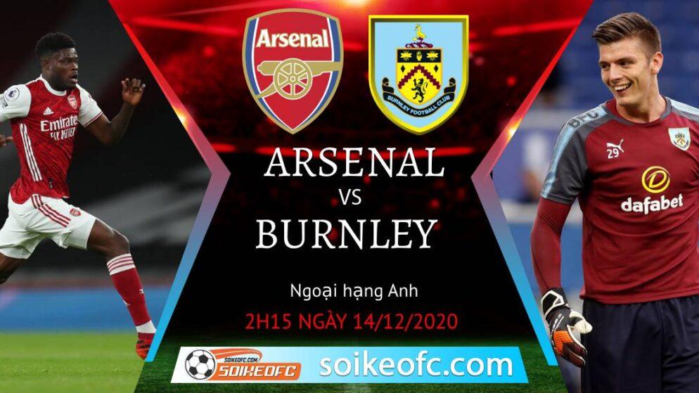 Soi kèo Arsenal vs Burnley, 2h15 ngày 14/12/2020 – Ngoại Hạng Anh