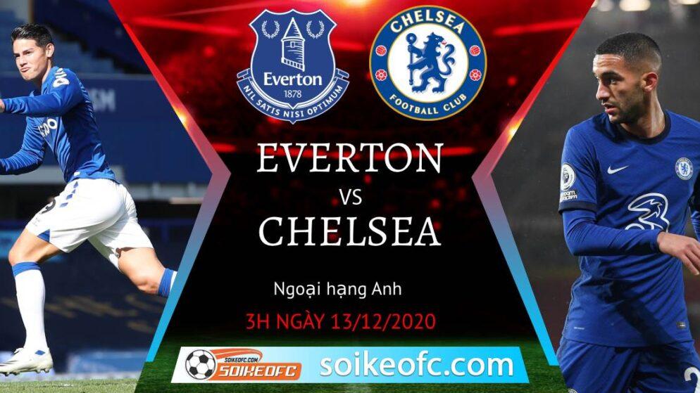 Soi kèo Everton vs Chelsea, 3h00 ngày 13/12/2020 – Ngoại Hạng Anh