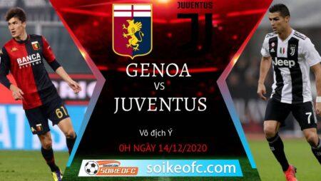 Soi kèo Genoa vs Juventus, 0h00 ngày 14/12/2020 – VĐQG Italia