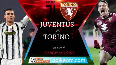 Soi kèo Juventus vs Torino, 0h00 ngày 06/12/2020 – VĐQG Italia