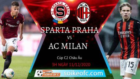 Soi kèo Sparta Praha vs AC Milan, 03h00 ngày 11/12/2020 – Europa League