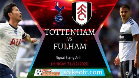 Soi kèo Tottenham vs Fulham, 1h00 ngày 31/12/2020 – Ngoại Hạng Anh