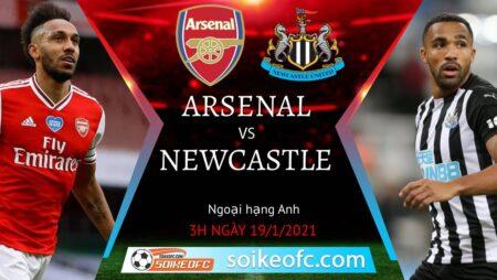Soi kèo Arsenal vs Newcastle United, 3h00 ngày 19/01/2021 – Ngoại Hạng Anh