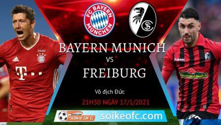 Soi kèo Bayern Munich vs Freiburg, 21h30 ngày 17/01/2021 – VĐQG Đức