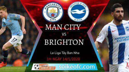 Soi kèo Manchester City vs Brighton, 1h00 ngày 14/01/2021 – Ngoại Hạng Anh