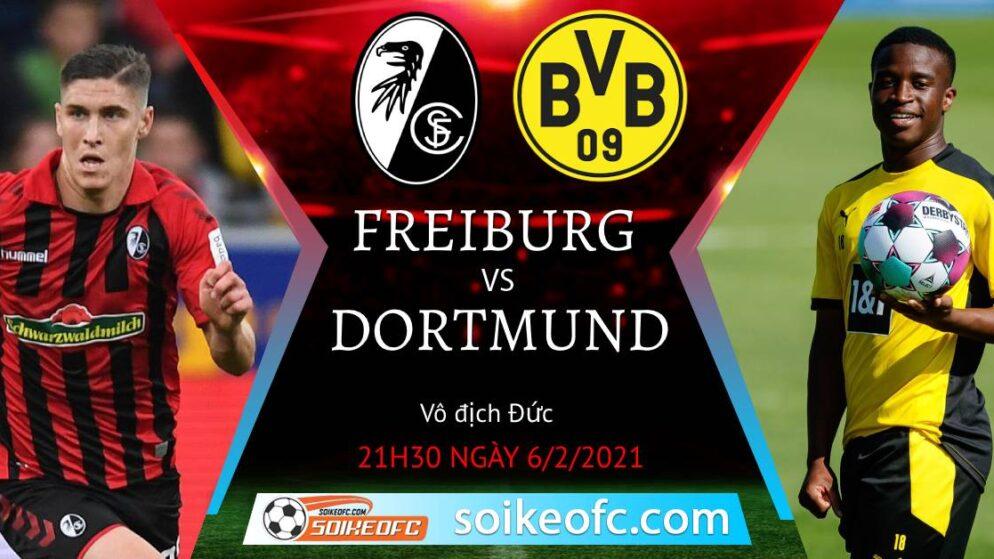Soi kèo Freiburg vs Dortmund, 21h30 ngày 06/02/2021 – VĐQG Đức