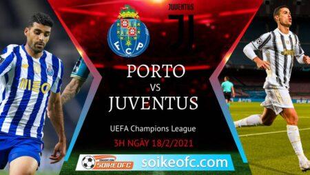 Soi kèo FC Porto vs Juventus, 3h00 ngày 18/02/2021 – VĐQG Italia