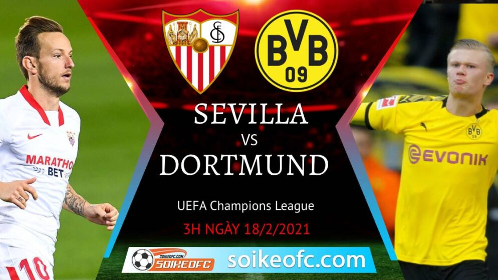 Soi kèo Sevilla vs Dortmund, 3h00 ngày 18/02/2021 – VĐQG Italia