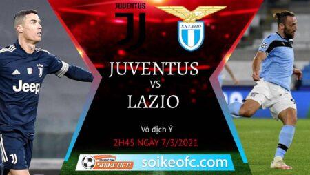 Soi kèo Juventus vs Lazio, 2h45 ngày 07/03/2021 – VĐQG Italia