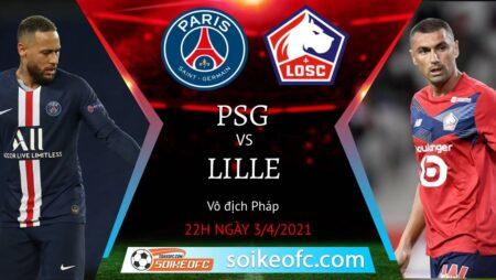 Soi kèo PSG vs Lille, 22h00 ngày 03/04/2021 – VĐQG Pháp