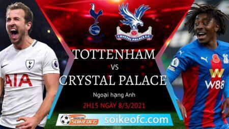 Soi kèo Tottenham vs Crystal Palace, 02h15 ngày 08/03/2021 – Ngoại Hạng Anh