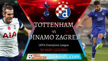 Soi kèo Tottenham vs Dinamo Zagreb, 03h00 ngày 12/03/2021 – Europa League