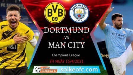 Soi kèo Dortmund vs Manchester City, 02h00 ngày 15/04/2021 – Champion League