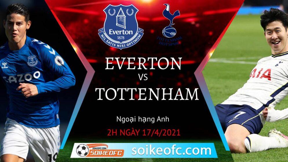 Soi kèo Everton vs Tottenham, 02h00 ngày 17/04/2021 – Ngoại Hạng Anh