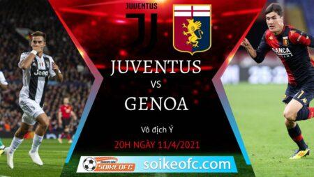 Soi kèo Juventus vs Genoa, 20h00 ngày 11/04/2021 – VĐQG Italia