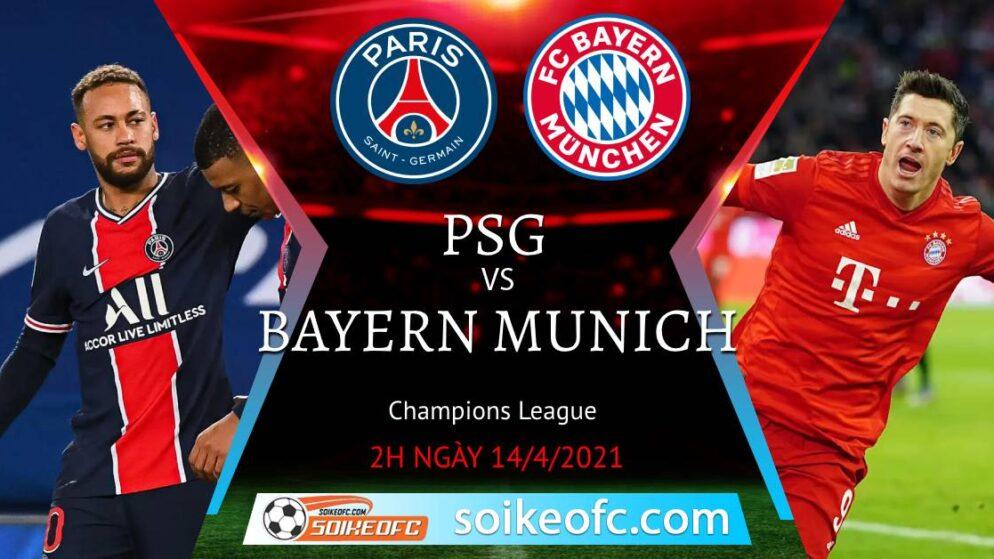 Soi kèo PSG vs Bayern Munich, 02h00 ngày 14/04/2021 – Champion League