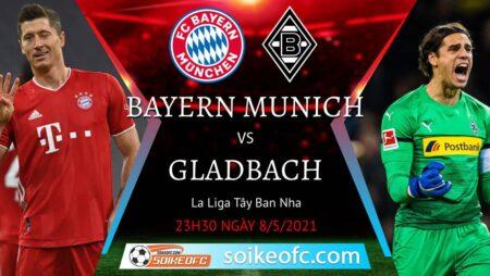 Soi kèo Bayern Munich vs M'Gladbach, 23h30 ngày 08/05/2021 – VĐQG Đức