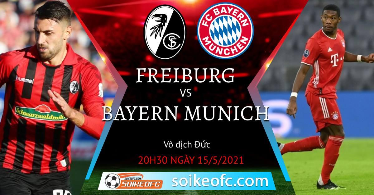 Soi kèo Freiburg vs Bayern Munich
