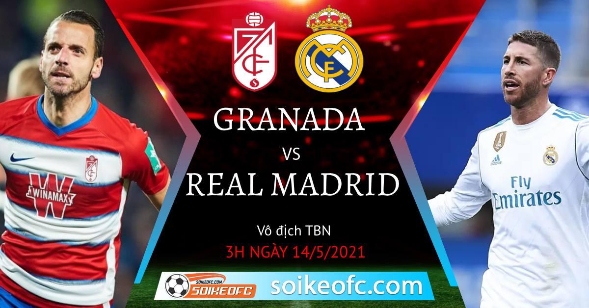 Soi kèo Granada vs Real Madrid