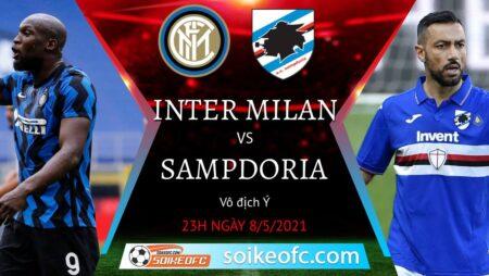 Soi kèo Inter Milan vs Sampdoria, 23h00 ngày 08/05/2021 – VĐQG Italia