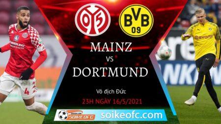 Soi kèo Mainz 05 vs Dortmund, 23h00 ngày 16/05/2021 – VĐQG Đức