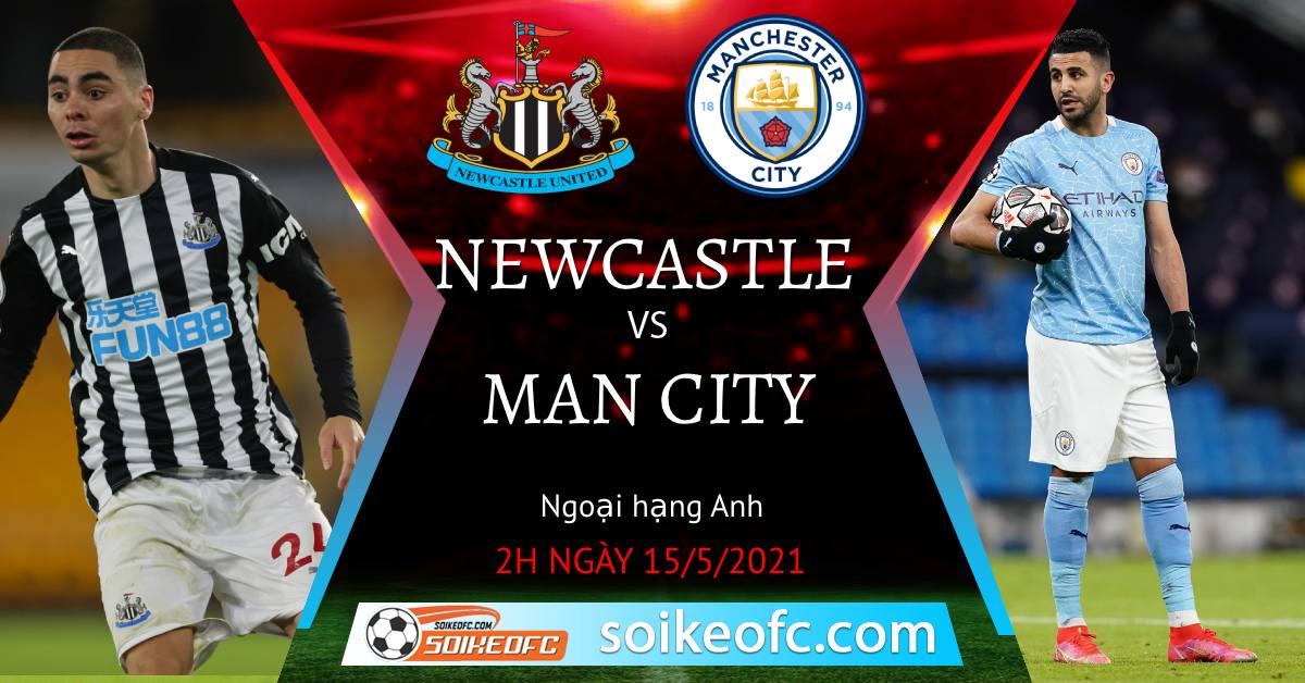 Soi kèo Newcastle United vs Manchester City