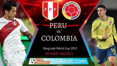 Soi kèo Peru vs Colombia, 09h00 ngày 04/06/2021 – Vòng loại World Cup 2022