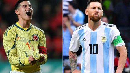 Soi kèo Colombia vs Argentina, 06h00 ngày 09/06/2021 – Vòng loại World Cup 2022