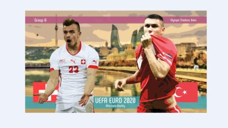 Soi kèo Thụy Sĩ vs Thổ Nhĩ Kỳ, 23h00 ngày 20/06/2021 – Euro 2021