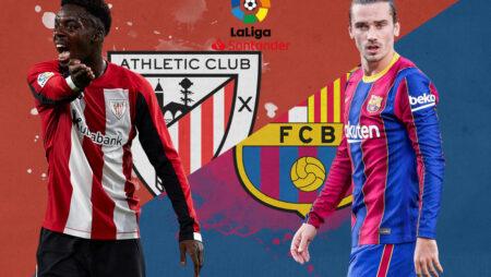 Soi kèo Athletic Bilbao vs Barcelona, 03h00 ngày 22/08/2021 – VĐQG Tây Ban Nha