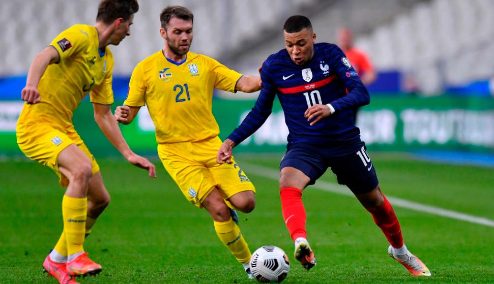 Soi kèo Ukraine vs Pháp, 01h45 ngày 05/09/2021 – Vòng Loại World Cup 2022
