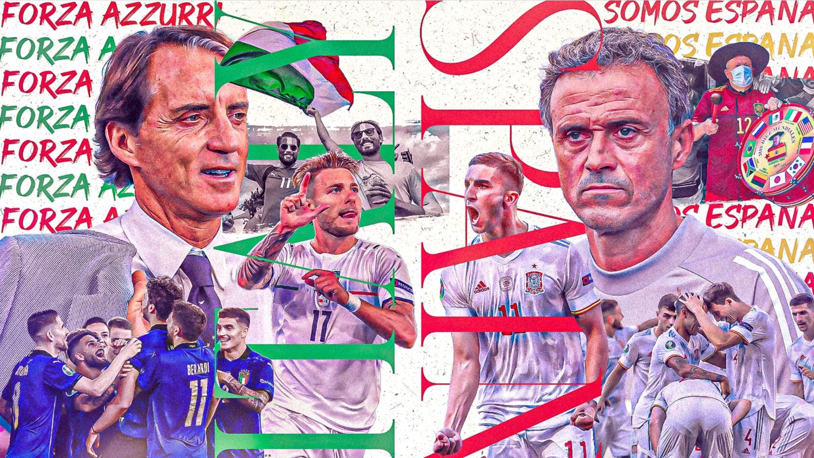 Nhận định bóng đá Ý vs Tây Ban Nha