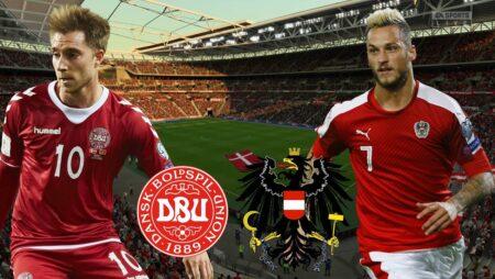 Soi kèo Đan Mạch vs Áo, 01h45 ngày 13/10/2021, vòng loại World Cup 2022 châu Âu
