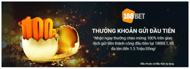 188bet Thưởng Tiền