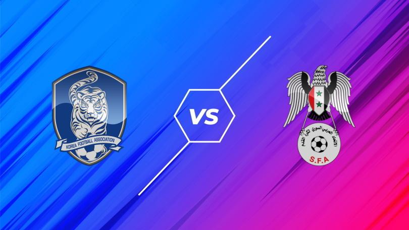 188BET Soi kèo Hàn Quốc vs Syria, Vòng loại World Cup 2022, 18h00 ngày 07/10/2021
